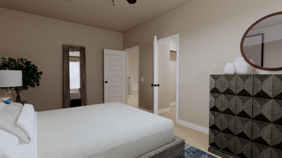 Bedroom 3 - The Goliad | Rendered Home - May Contain Updates and Plan Changes Tilson Custom Home Photo