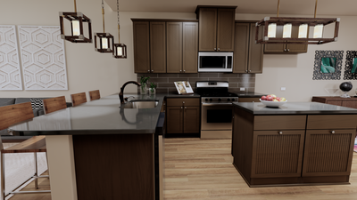 Kitchen - The Goliad | Rendered Home - May Contain Updates and Plan Changes Tilson Custom Home Photo