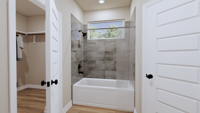 Master Bathroom - The Goliad | Rendered Home - May Contain Updates and Plan Changes Tilson Custom Home Photo