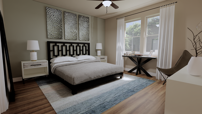 Master Bedroom - The Goliad | Rendered Home - May Contain Updates and Plan Changes Tilson Custom Home Photo