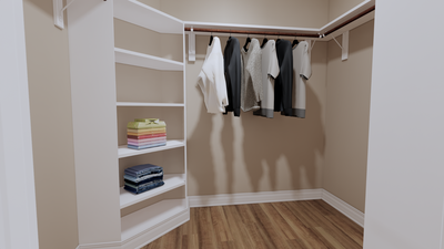 Master Closet - The Goliad | Rendered Home - May Contain Updates and Plan Changes Tilson Custom Home Photo