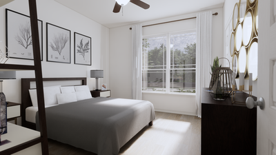 Bedroom 2 - The Nacogdoches | Rendered Home - May Contain Upgrades and Plan Changes Tilson Custom Home Photo