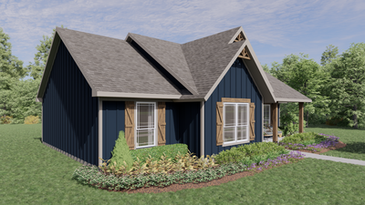Elevation C - The Nacogdoches | Rendered Home - May Contain Upgrades and Plan Changes Tilson Custom Home Photo