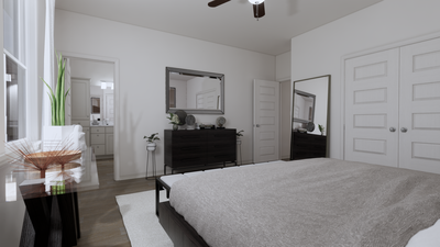 Master Bedroom - The Nacogdoches | Rendered Home - May Contain Upgrades and Plan Changes Tilson Custom Home Photo