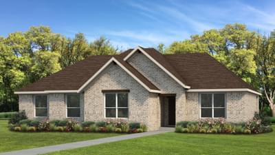 Elevation A   The Livingston Tilson Custom Home Photo