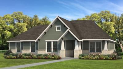 Elevation B   The Livingston Tilson Custom Home Photo