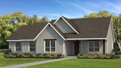 Elevation C | The Livingston Tilson Custom Home Photo