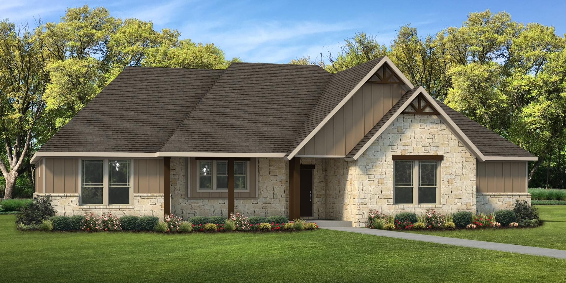 The Abilene Custom Home Plan from Tilson Homes
