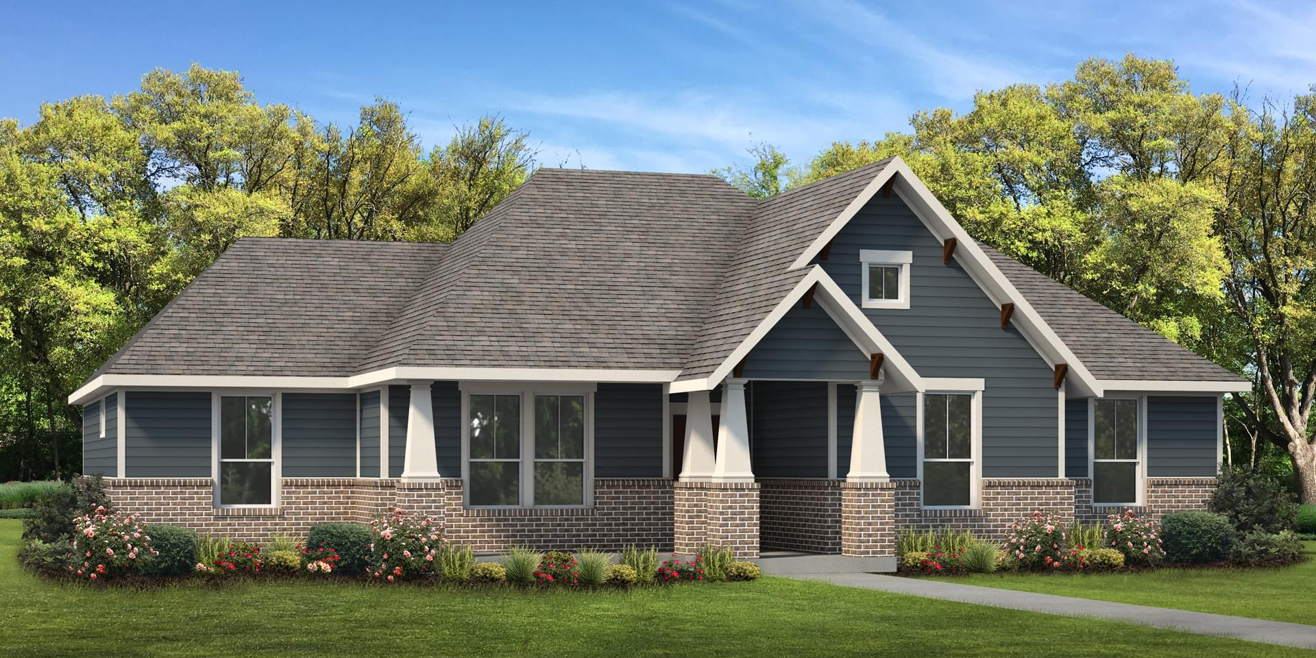 The Angelina Custom Home Plan from Tilson Homes