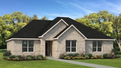 Elevation A | The Travis Tilson Custom Home Photo