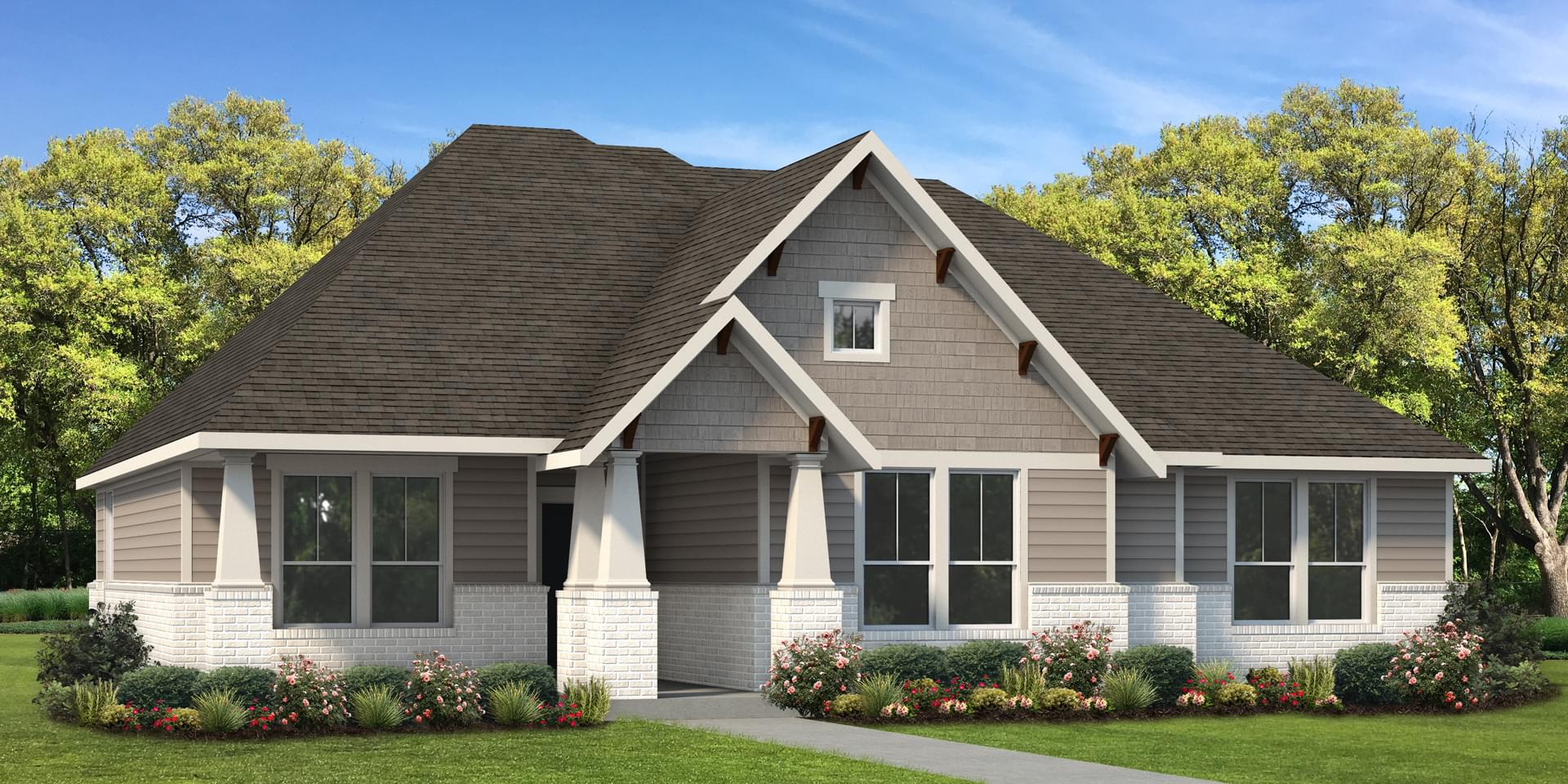 The Travis Custom Home Plan from Tilson Homes