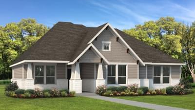 Elevation B | The Travis Tilson Custom Home Photo