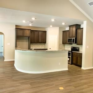 Kitchen - The Canyon | Customer Home in Guadalupe County - May Contain Upgrades and Plan Changes Tilson Custom Home Photo