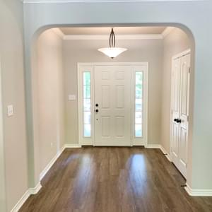 Entryway - The Canyon | Customer Home in Guadalupe County - May Contain Upgrades and Plan Changes Tilson Custom Home Photo