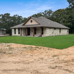 Elevation C - The Savannah | Customer Home in Milam County - May Contain Upgrades and Plan Changes Tilson Custom Home Photo