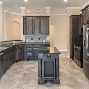 Kitchen  - The Savannah | Customer Home in Milam County - May Contain Upgrades and Plan Changes Tilson Custom Home Photo