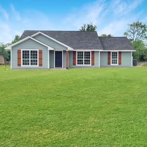 Elevation B – The Harrisburg | Customer Home in Anderson County - May Contain Upgrades and Plan Changes Tilson Custom Home Photo