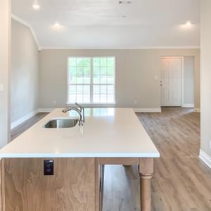 Kitchen – The Harrisburg | Customer Home in Anderson County - May Contain Upgrades and Plan Changes Tilson Custom Home Photo