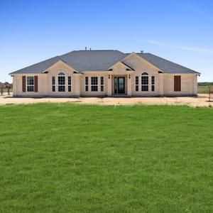 Elevation B - The Shiloh | Customer Home in Brazoria County - May Contain Upgrades and Plan Changes Tilson Custom Home Photo