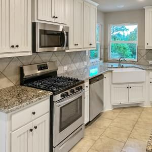 Kitchen - The San Felipe | Customer Home in Comal County - May Contain Upgrades and Plan Changes Tilson Custom Home Photo