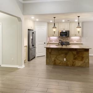 Kitchen – The La Porte | Customer Home in Brazoria County - May Contain Upgrades and Plan Changes Tilson Custom Home Photo