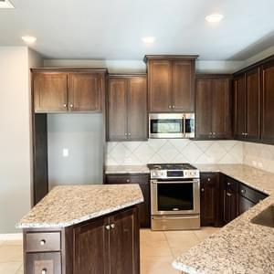 Kitchen – The Hansford | Customer Home in Chambers County - May Contain Upgrades and Plan Changes Tilson Custom Home Photo