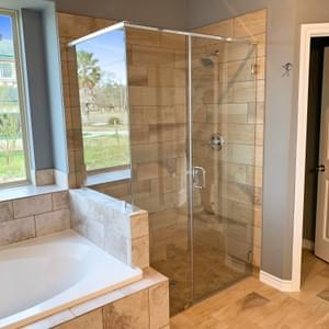 Master Bath – The Hansford | Customer Home in Chambers County - May Contain Upgrades and Plan Changes Tilson Custom Home Photo