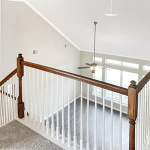 Second Level Landing – The Oxford | Customer Home in Wharton County - May Contain Upgrades and Plan Changes Tilson Custom Home Photo