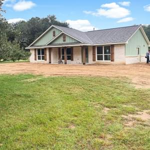 Elevation B - The Rio | Customer Home in DeWitt County - May Contain Upgrades and Plan Changes Tilson Custom Home Photo