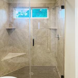 Alternate Master Bath - The Rio | Customer Home in DeWitt County - May Contain Upgrades and Plan Changes Tilson Custom Home Photo
