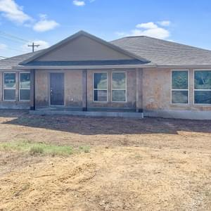 Elevation B Reverse Plan - The Rio | Customer Home in Gonzales County - May Contain Upgrades and Plan Changes Tilson Custom Home Photo