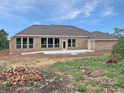 Rear Elevation - The Shiloh | Customer Home in Medina County - May Contain Upgrades and Plan Changes Tilson Custom Home Photo