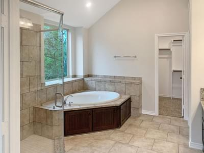Master Bath - The Shiloh | Customer Home in Medina County - May Contain Upgrades and Plan Changes Tilson Custom Home Photo