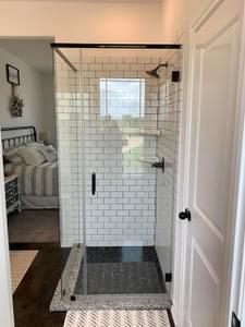 Optional Walk-In Shower   Harrisburg C - Customer Home Tilson Custom Home Photo