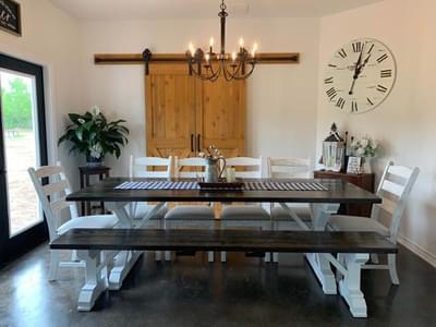 Custom Dining Room   Harrisburg C - Customer Home Tilson Custom Home Photo