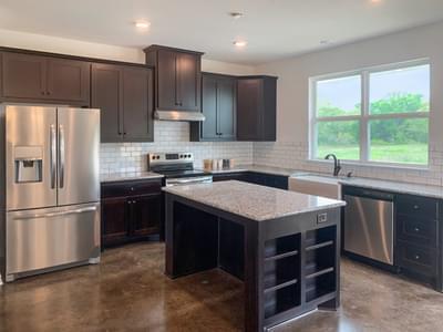 Alternate Kitchen and Island   Harrisburg C - Customer Home Tilson Custom Home Photo