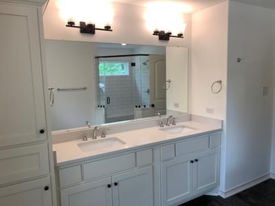 Magnolia - Master Bath   Customer Home in Guadalupe County Tilson Custom Home Photo