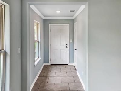 Entryway - The San Felipe | Customer Home in Kendall County - May Contain Upgrades and Plan Changes Tilson Custom Home Photo