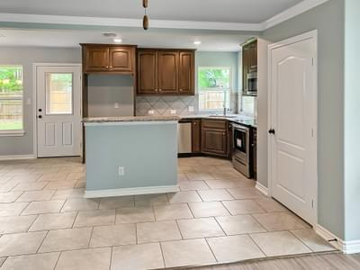 Kitchen - The San Felipe   Customer Home in Kendall County - May Contain Upgrades and Plan Changes Tilson Custom Home Photo
