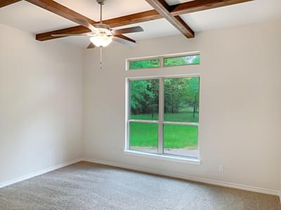 Master Bedroom Box Ceiling - The Oxford | Customer Home in Walker County - May Contain Upgrades and Plan Changes Tilson Custom Home Photo