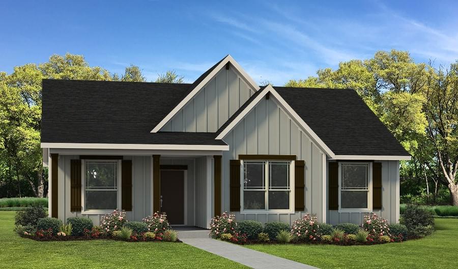 The La Porte Custom Home Plan from Tilson Homes