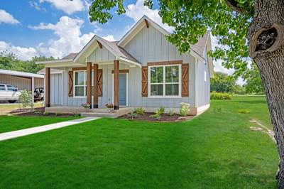 Elevation C – The San Antonio | Customer Home in Llano County - May Contain Upgrades and Plan Changes Tilson Custom Home Photo