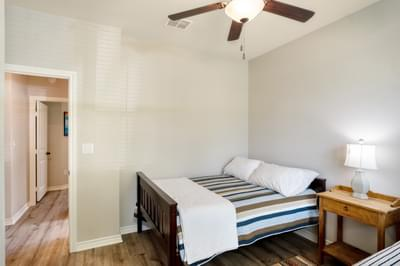 Bedroom 2 – The San Antonio | Customer Home in Llano County - May Contain Upgrades and Plan Changes Tilson Custom Home Photo