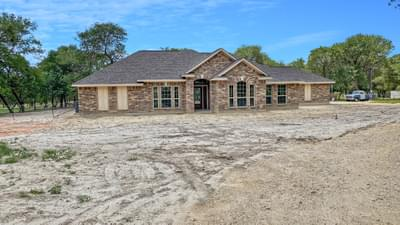 Elevation B with Attached Side-Load Garage- The Hidalgo | Customer Home in Wilson County - May Contain Upgrades and Plan Changes Tilson Custom Home Photo
