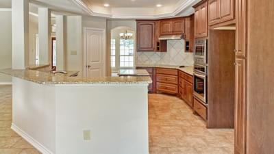 Kitchen - The Hidalgo | Customer Home in Wilson County - May Contain Upgrades and Plan Changes Tilson Custom Home Photo