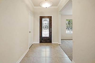 Foyer – The La Porte | Customer Home in Williamson County - May Contain Upgrades and Plan Changes Tilson Custom Home Photo