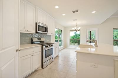 Kitchen – The La Porte   Customer Home in Williamson County - May Contain Upgrades and Plan Changes Tilson Custom Home Photo