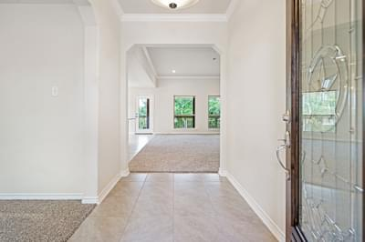 Foyer – The La Porte   Customer Home in Williamson County - May Contain Upgrades and Plan Changes Tilson Custom Home Photo