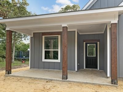 Elevation C – The La Porte | Customer Home in Grimes County - May Contain Upgrades and Plan Changes Tilson Custom Home Photo