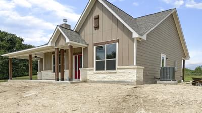 Elevation C – The Harrisburg | Customer Home in Leon County - May Contain Upgrades and Plan Changes Tilson Custom Home Photo